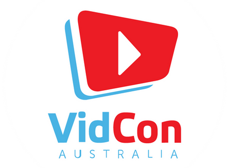 Speaking @ VidCon Australia 2019