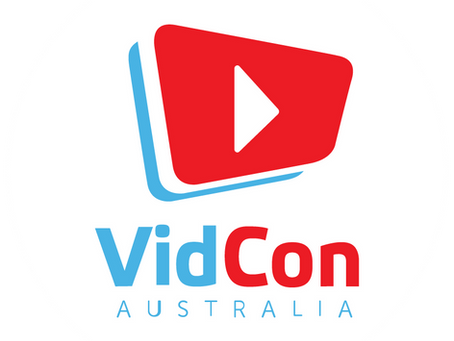 Speaking @ VidCon Australia 2019