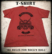 "The Sinners Incorporated Official T-Shirt ""No Rules for Rock'n Roll"""