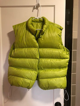 Brandon bought the down for this ultralight vest from loose goose down supply