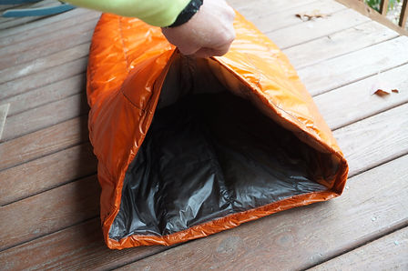 DIY Down sleeping bag for a Climber who will be using this in Patagonia