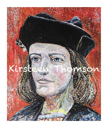 Portrait of Richard III - SOLD to Richard III Soc.