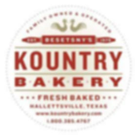 Round here, they'd say if you caught one whiff of the delicious pastries baking in Evelyn Besetsny's country kitchen, you'd just have to get a taste for yourself. Evelyn and her husband Clarence took the best of their Czech and German roots to create the tastiest pies, flakiest pastries, and freshest bread. Not to mention Kolaches so irresistible, you'd think they invented them. That same tradition of secret family recipes - along with the freshest farm-raised ingredients - is the cornerstone of Besetsny's Kountry Bakery. For over 25 years, the Kountry Bakery has delighted friends, neighbors and visitors from all over Texas who come for its fresh-from-the oven treats. Today, the Kountry Bakery is tended by 3 generations of the Besetsny family. They guarantee that every batch we churn out today is as fresh and tasty as it was in Evelyn's farmhouse kitchen. Drop by or order soon and catch a whiff for yourself.