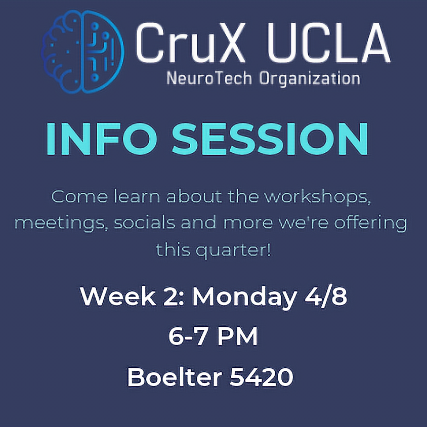 Spring '19 Information Session (Monday)