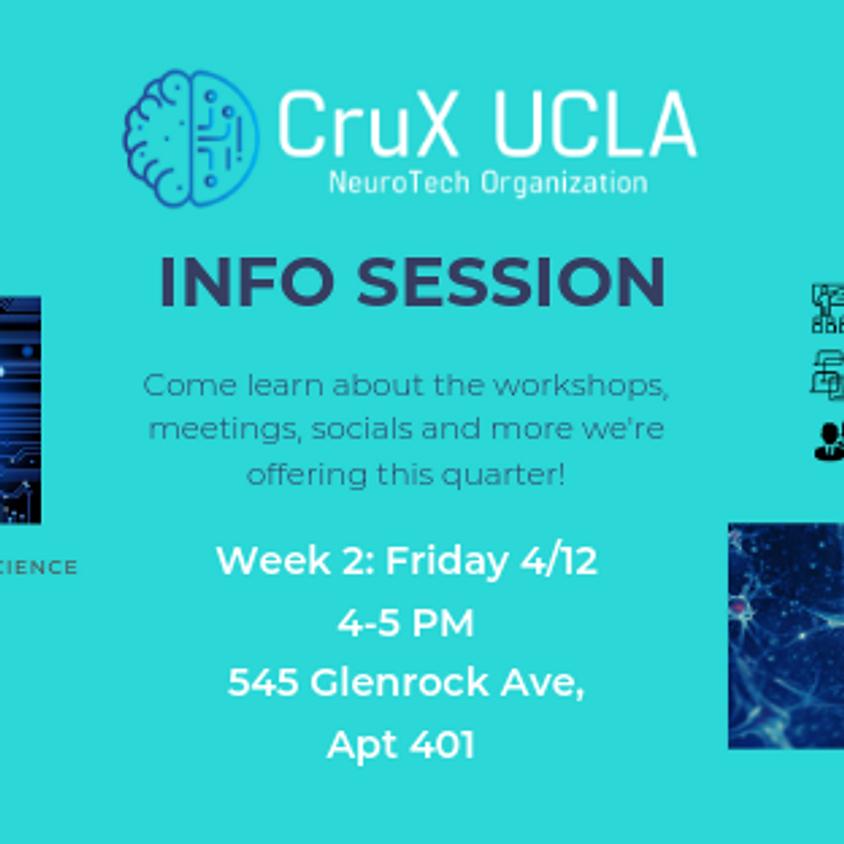 Spring '19 Information Session (Friday)