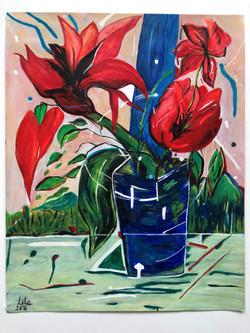Flower in a Vase - 275