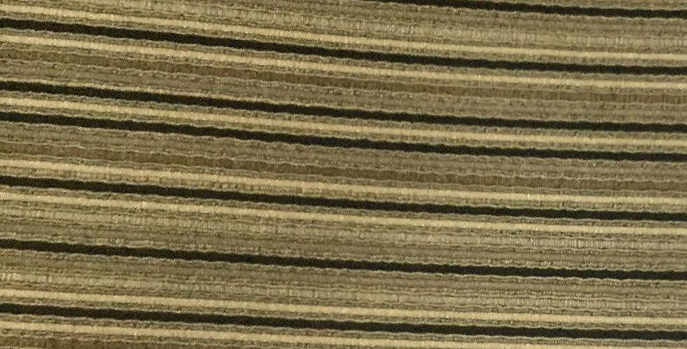 Black & Gold Stripe - Woven