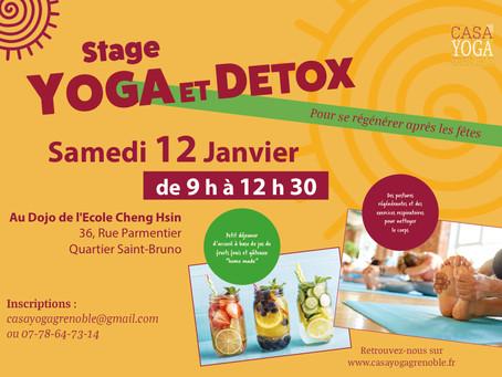 Yoga et Détox - samedi 12 janvier