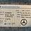 Thumbnail: A 170 790 07 45 SLK R170 Mercedes VERKLEIDUNG MITTE AN VARIO-DACH VORN