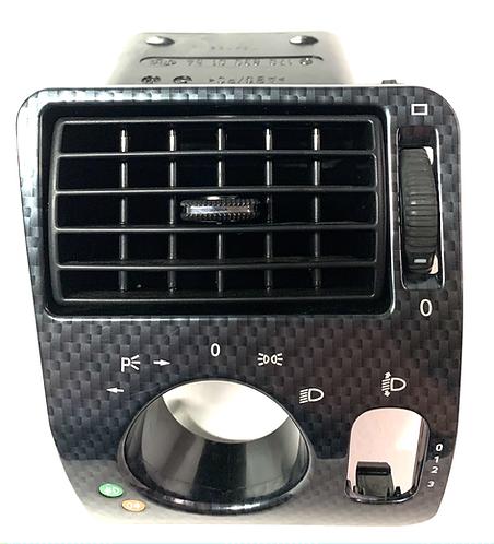 1708300154R170 SLK Lichtschalter Verkleidung Schalter Carbon Original