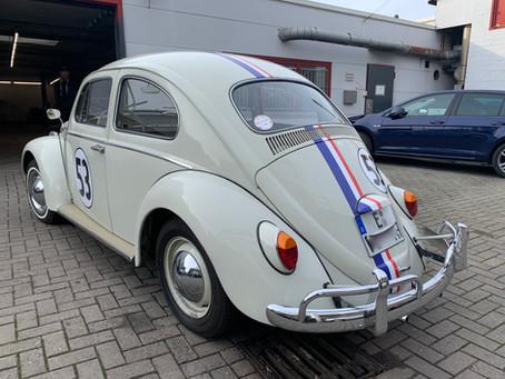 Herbie auf großer Fahrt...