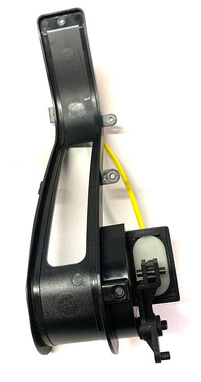 A 1706801050 SLK R170 Mercedes Konsole für Handbremsrollo