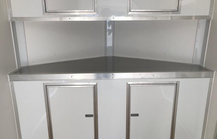 V-Nose Cabinets