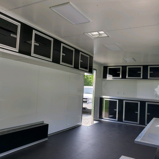 Vending Trailer with Cabinets