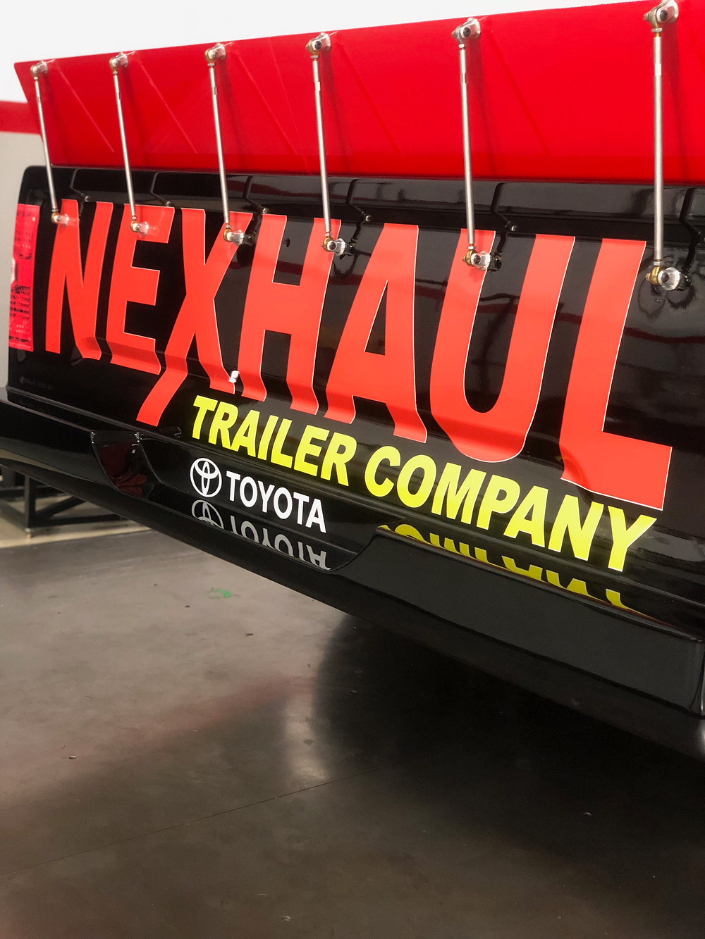Jeb Burton and Nexhaul Trailers