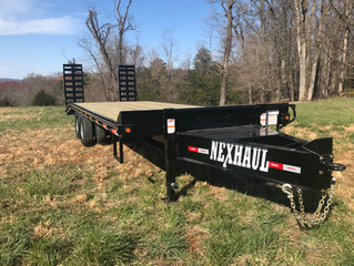 Introducing the Ten Ton Equipment Trailer