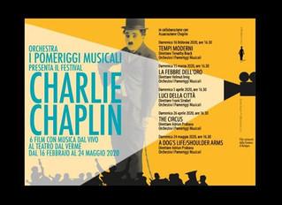 Festival Charlie Chaplin: dal 16 febbraio al 24 maggio al Teatro Dal Verme