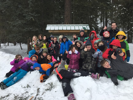 Grade 4/5 Forest Class: Where our Learning Grows Through our  Relationships with Nature