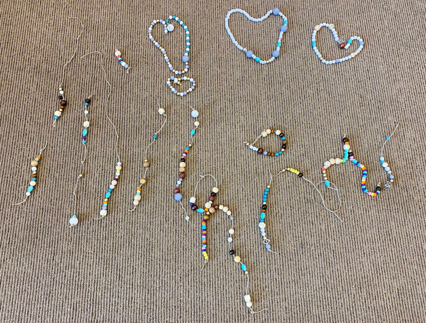 cle - beaded timeline - personal signifi