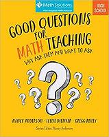 Good Questions for Math Teaching - High