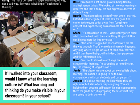 A Reflection on... What is Learning?
