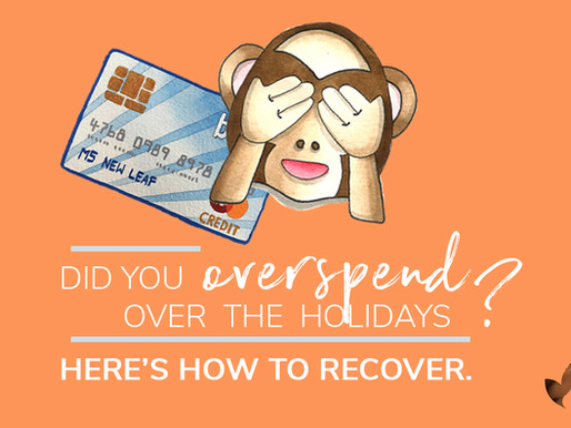 Did you overspend for Christmas? Here's how to recover...