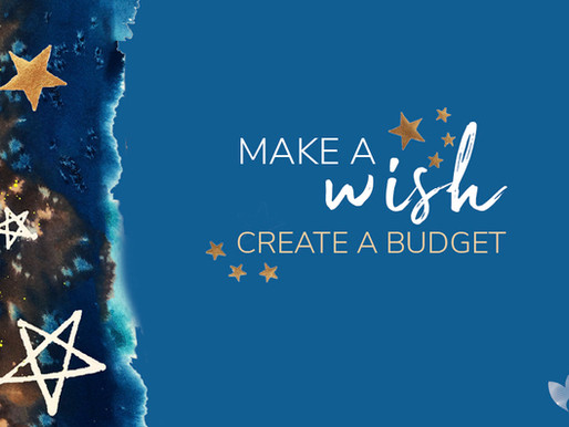 Make a Wish - Create a Budget