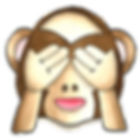 Monkey Emoji - See no Evil - If I ignore my budget it will go away!
