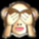 Monkey Emoji - See no Evil - If I ignore my budget it will go away!