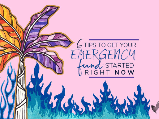 You DON'T have an Emergency Fund? Here's how you can get one FAST.