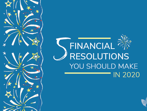 5 Financial Resolutions you should make in 2020