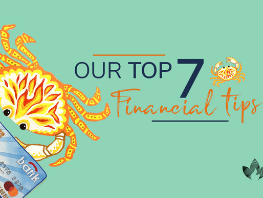 Our top 7 financial tips