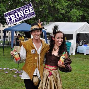 Orlando International Fringe Festival Mascots