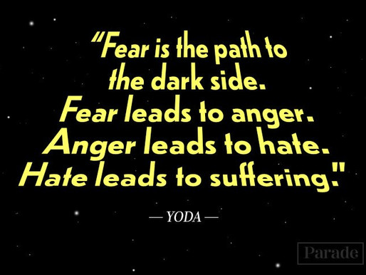 Fear is strong, but so are you...