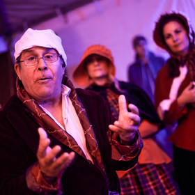 Scrooge recalls his past at Dickens Afte