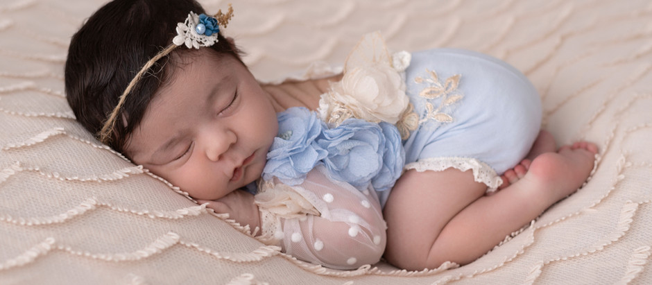 Sesión Newborn, Bebé Francesca