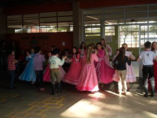 Colégio Mantovani promove mateada de integração para estudantes e familiares