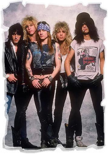 Группа Guns N' Roses | Rock Auto Club