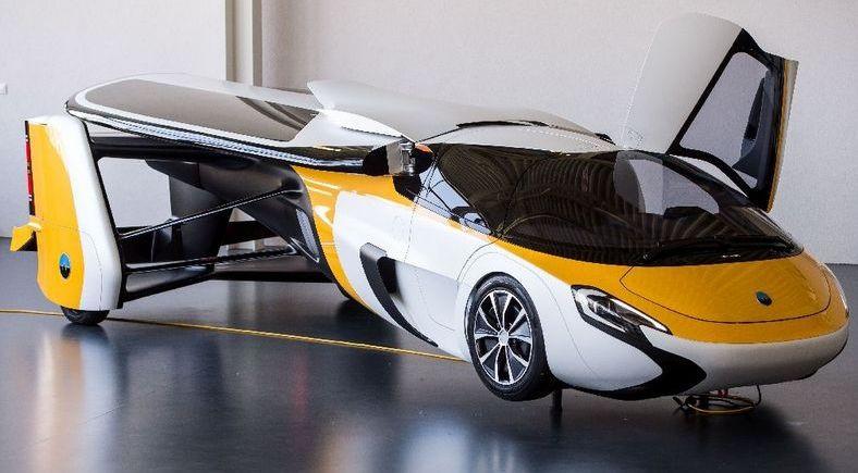 Летающий автомобиль AeroMobil   Rock Auto Club