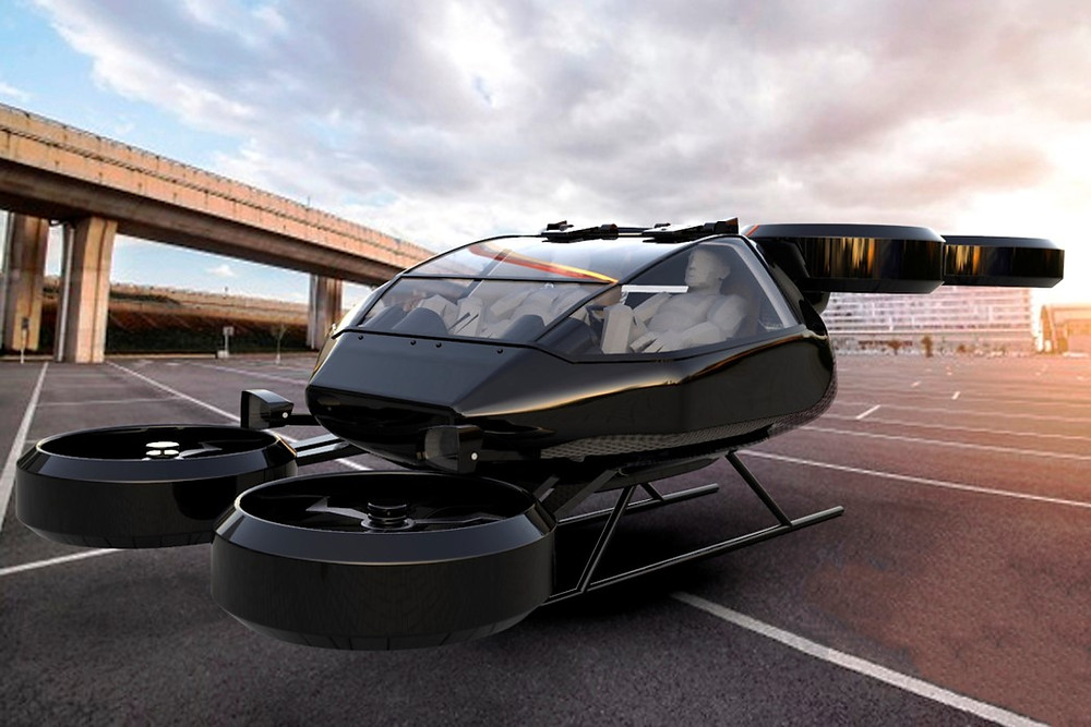 Летающий Cadillac VTOL | Rock Auto Club