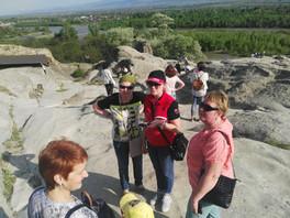 Наши туристы