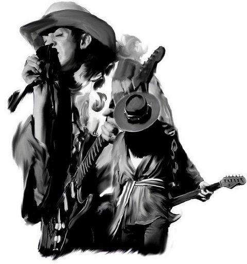 Stevie Ray Vaughan   Стиви Рэй Воэн   Rock Auto Club