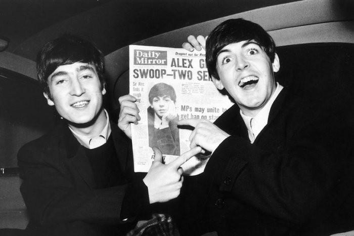 Джон Леннон и Пол Маккартни | Rock Auto Club