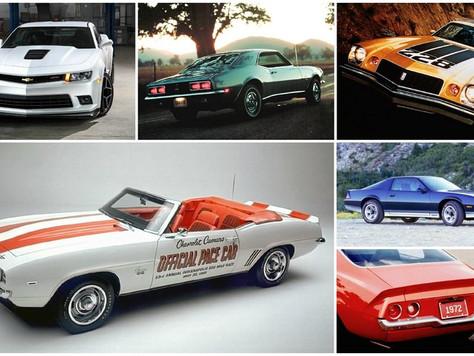 Chevrolet Camaro – история автомобиля