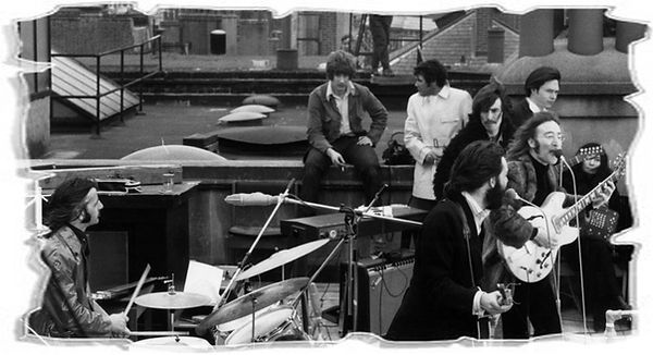 «The Beatles» на крыше | Rock Auto Club