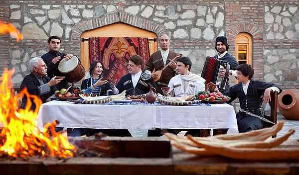 Грузинские традиции | Адмирал+