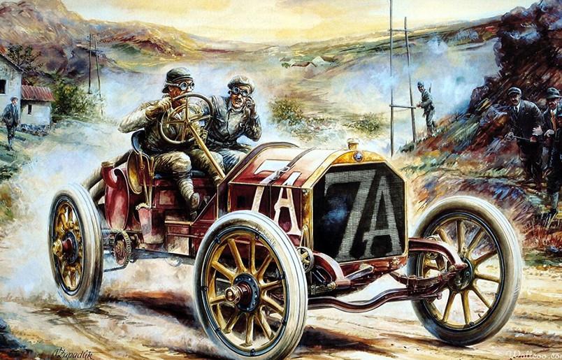 Автогонки начала 20 века