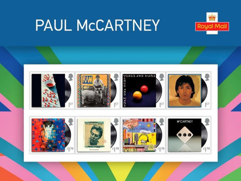 Марки в честь McCartney