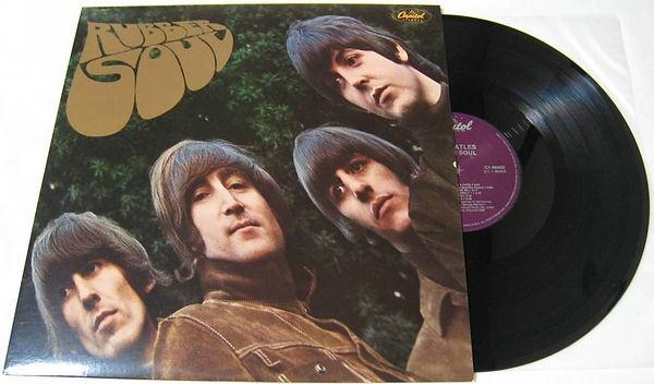Альбом Beatles Rubber Soul | Rock Auto Club