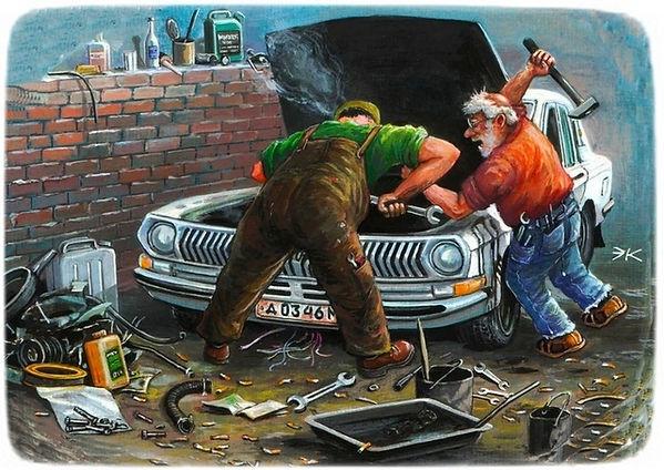 Автомобильная мастерская | Rock Auto Club